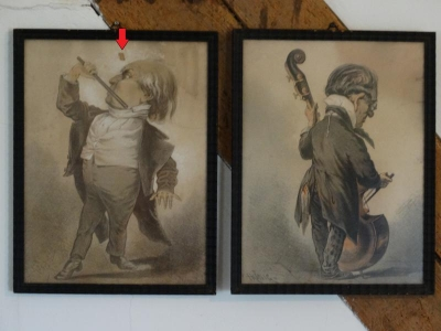 6 Litho's, Herbert König, Dresden 1820-1876