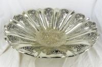Zilveren fruitschaal, 45 cm, 1380 gram