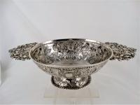 Zilveren Brandewijnkom, Hotse van Sinderen, Dokkum 1730-1773