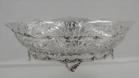 Zilveren broodmand Louis XV-stijl